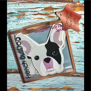 Other - French Bulldog Designed 3 PK nail files